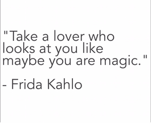 frida kahlo, lover, and quote image