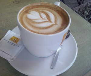 capuccino, good, and love it image