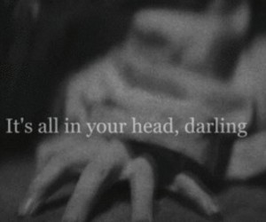 head, darling, and depression image