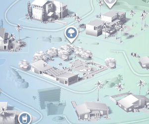 map, sims, and the sims image