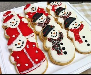 christmas, Cookies, and smile image