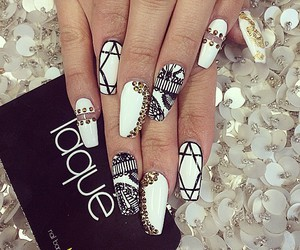 nails, laque, and white image
