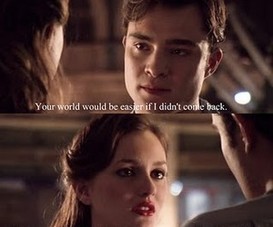 gossip girl, quotes, and love image