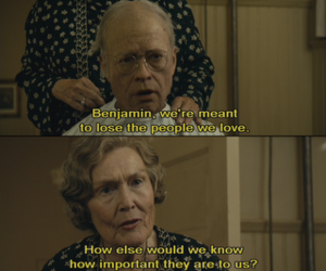 benjamin button, movie, and quote image