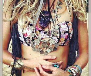 accessories, beach, and gipsy image
