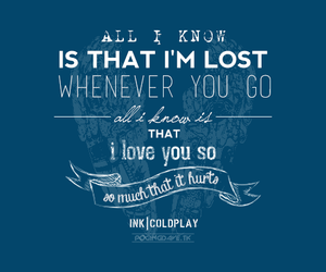 coldplay and ink image