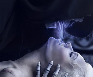 death, kiss, and soul image
