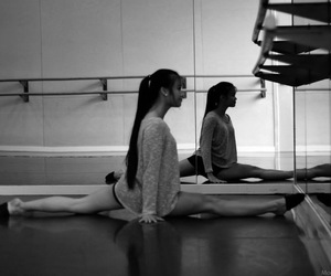 ballet, dancer, and toeshoes image