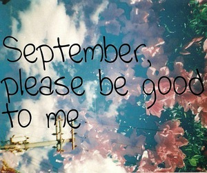 September and text image