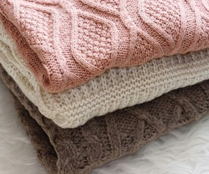 sweater, pink, and clothes image