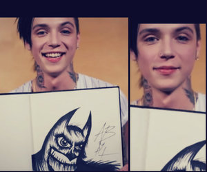 batman, handsome, and andy sixx image