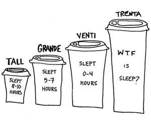 coffee, tall, and true image