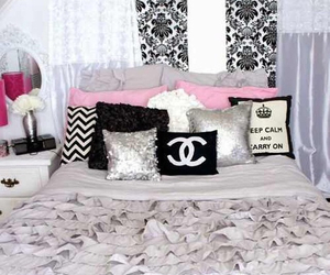 chanel, bedroom, and room image