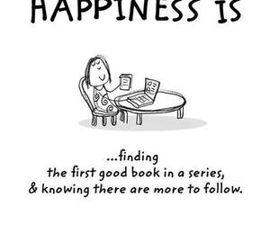 books, happiness, and series image