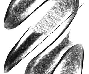 art, black, and line image