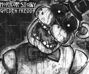 golden freddy and american horror story image