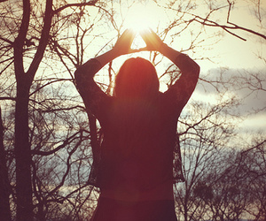 girl, hipster, and sun image