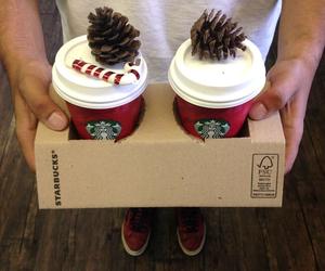 christmas, coffe, and cool image