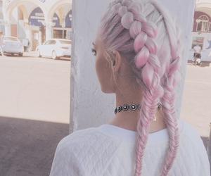 braid, fashion, and pale image