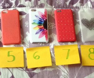 cases, colors, and girly image