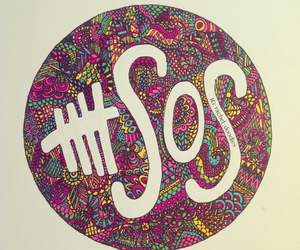 ketchup, 5 seconds of summer, and zentangle image