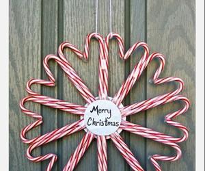 candy cane, christmas, and merry christmas image