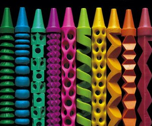 crayon, colors, and art image