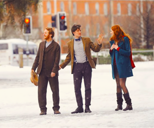 doctor who, amy pond, and snow image