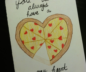 pizza and quotes image