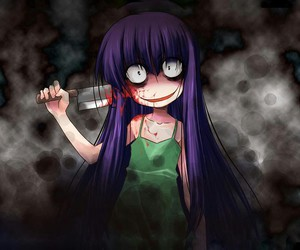 anime, creepy, and creepypasta image