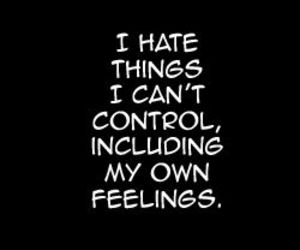 quotes, control, and feelings image