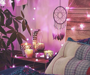 beauty, bedroom, and candles image