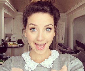 zoella, hair, and zoe sugg image