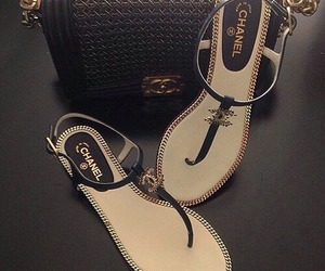 chanel, grunge, and shoes image
