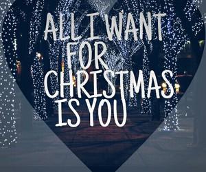 christmas, love, and winter image