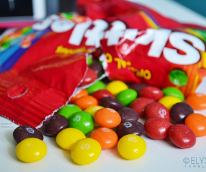candy, colors, and food image