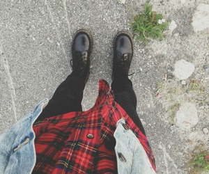 black, red, and grunge image