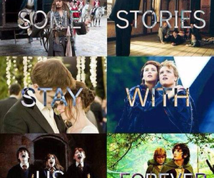 harry potter, story, and twilight image