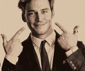 sam claflin, boy, and smile image