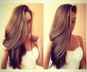 hair, beautiful, and long hair image