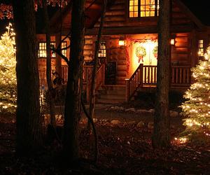 christmas, beautiful, and house image