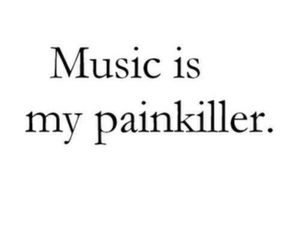 music, painkiller, and quotes image