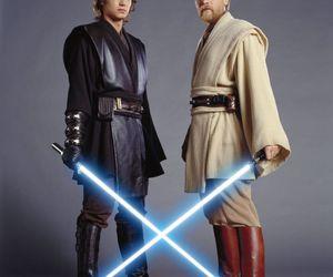 Anakin Skywalker, hayden christensen, and ewan mcgregor image