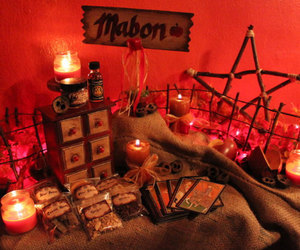 wiccan and mabon image