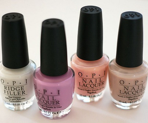 opi, nails, and nail polish image