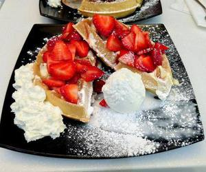 strawberry, yummy, and delicious image