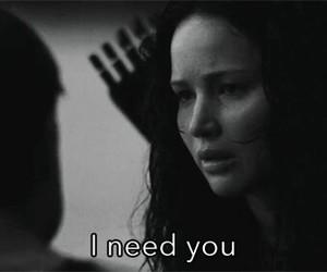 love, katniss, and peeta image