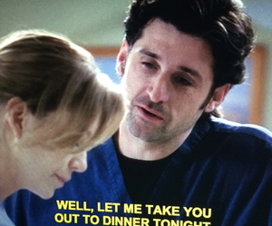 date, tv, and grey's image