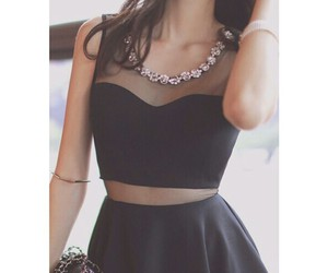 black, fashion, and clothes image