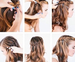 braid, cute, and diy image